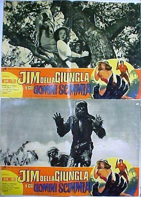 Jim dell jungla e gli uomini scimmia