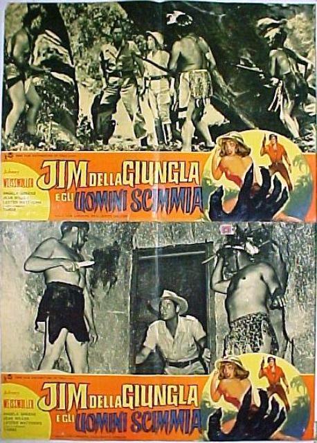 Jim della jungla gli uomini scimmia