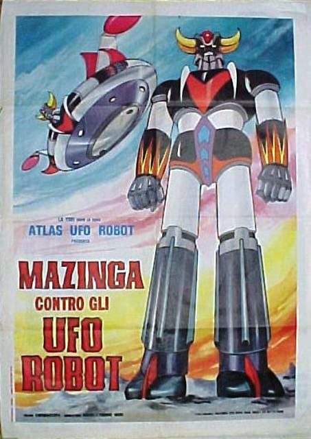 Mazinga contro gli ufo robot 1