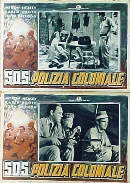 SOS polizia coloniale