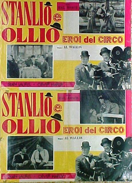 STANLIO E OLIO EROI DEL CIRCO