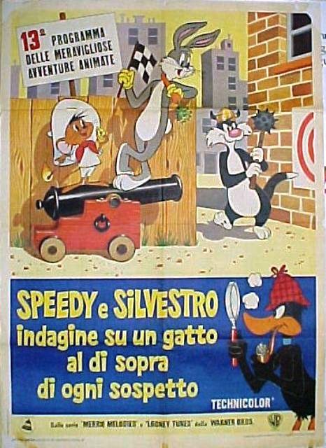 Speedy e Silvestro indagine su un gatto al di sopra di ogni sospetto 1