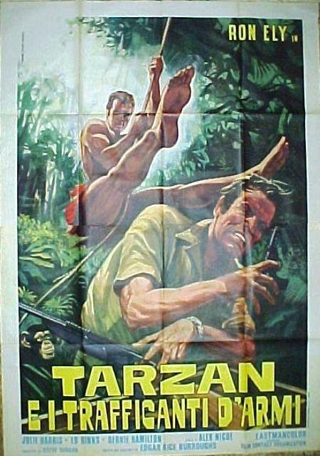 Tarzan e i trafficanti di armi 1