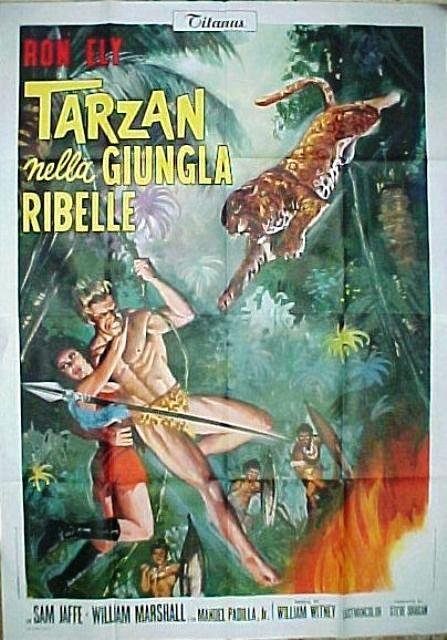 Tarzan nella jungla ribelle 1